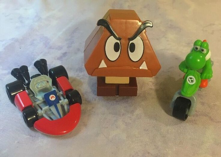 Super Mario Toy - Cart Racer Friends Yoshi McDonald's Sonic Nintendo Happy Meal