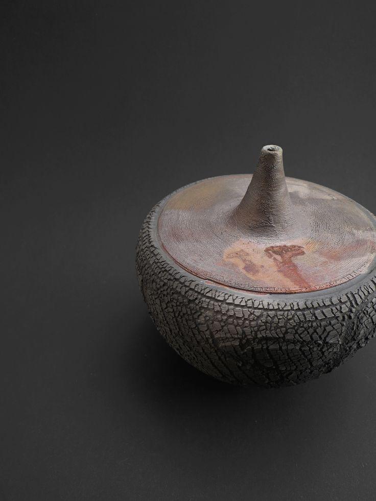 Dormant Volcano - Ildikó Károlyi #ceramics #raku #design