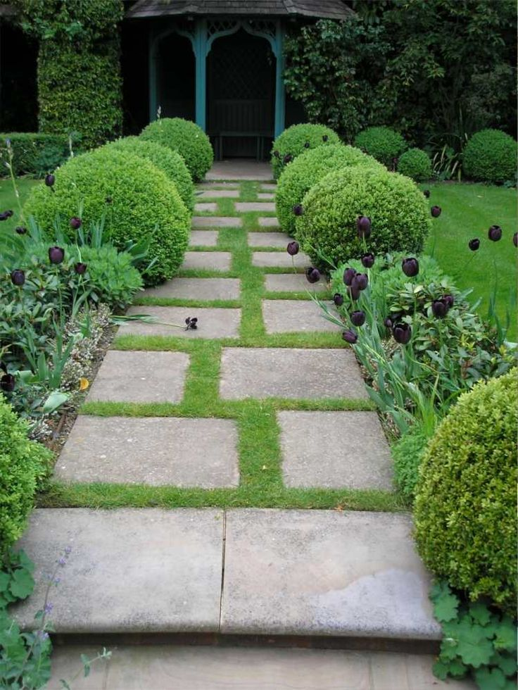 1055 best ALLEES, BORDURES images on Pinterest Beautiful gardens - Dalle Pour Parking Exterieur