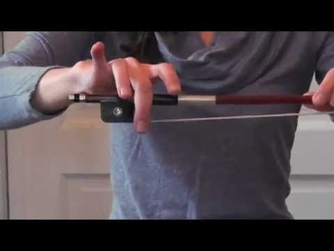 Online Cello Lessons - 1 - How to Hold the Bow