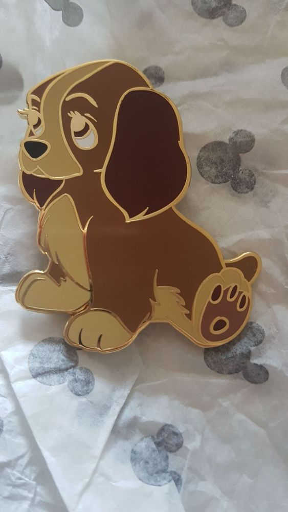 Disney Fantasy Pin - Jumbo Pin Pouty Lady - Lady The Tramp Dog puppy RARE | Collectables, Disneyana, Contemporary (1968-Now) | eBay!