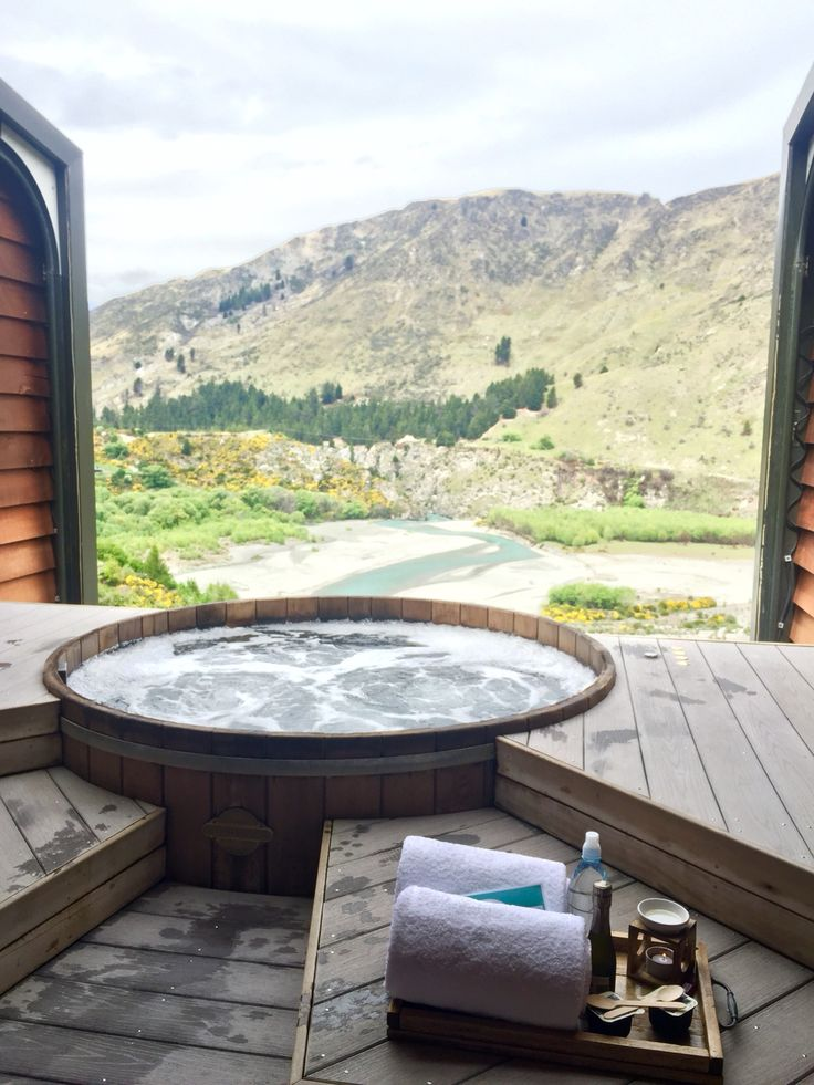 Onsen hot pools, amazing hot pools 5 mins out of queenstown