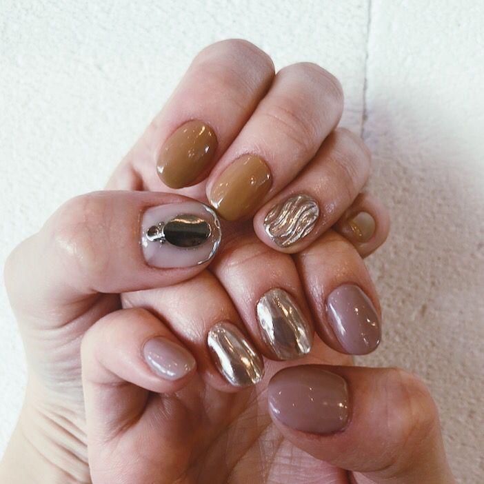 instagram ☞@mnkaori #nailart #nail #nailstagram # ...