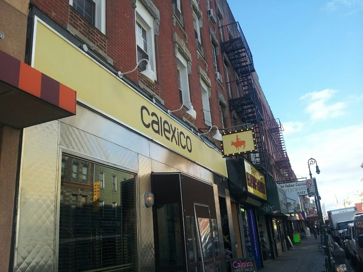 Calexico is a great place to check out if you are ever in Greenpoint #Brooklyn