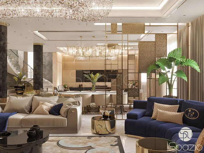 Interior Design Projects In The Uae Luxury House Interior Design Luxury Interior Contemporary Decor Living Room
