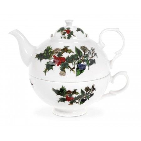 Portmeirion The Holly and The Ivy Tea for One - The Holly & The Ivy - Portmeirion UK