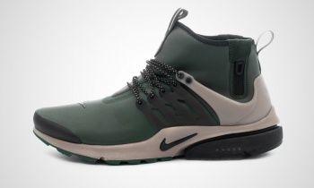 Nike - Air Presto Utility Mid-Top (green / black)