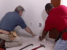 DIYNetwork.com shows how to build a hideaway Murphy bed to create a temporary guest bedroom in a den or home office.