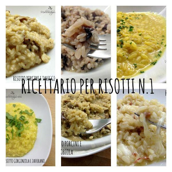 Per leggere la raccolta ricette di risotti non dovete far altro che cliccare sulla foto e... buona lettura a tutti!!!