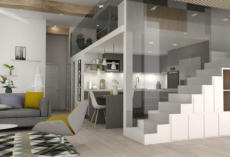 les 25 meilleures id es de la cat gorie appartement canut sur pinterest chaise haute design. Black Bedroom Furniture Sets. Home Design Ideas