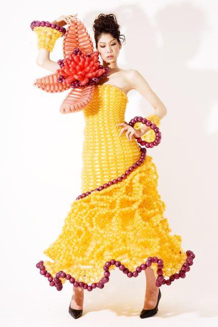 Magnificent Yellow Wedding Dress Balloon | Wedding dresses, simple wedding dresses, Prom dresses