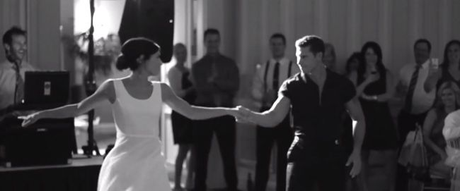 Most Epic Wedding Dance Ever ~ Couple Takes on 'Dirty Dancing'