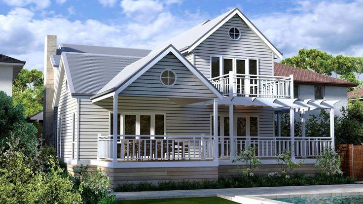 Design of August 2013 - The Hamptons Design - Storybook Designer Kit Homes Australia