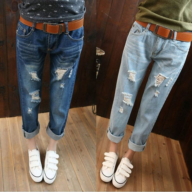 25  best ideas about Ripped Jeans For Women on Pinterest | Fall ...