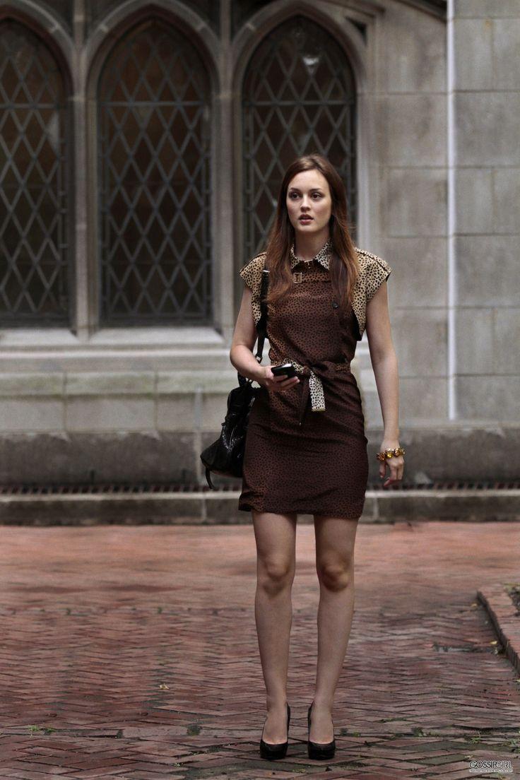 Blair Waldorf in Gucci Pre-Fall 2010