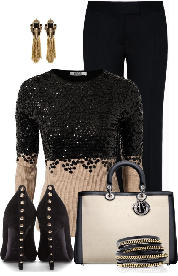 U0026quot;Studs and Chainsu0026quot; by pippimommy liked on Polyvore | My Style Profile for Spring-Summer ...