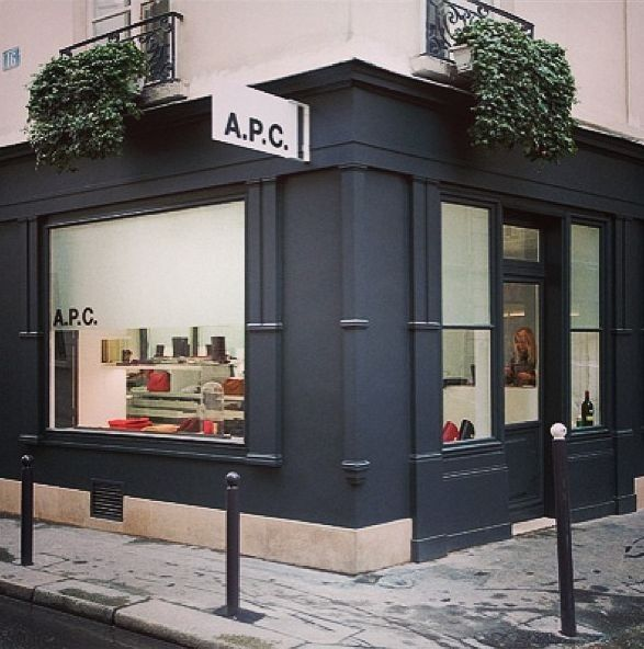 apc store - Storefront Design Ideas