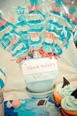 Shark pops    Whole shark party here!
