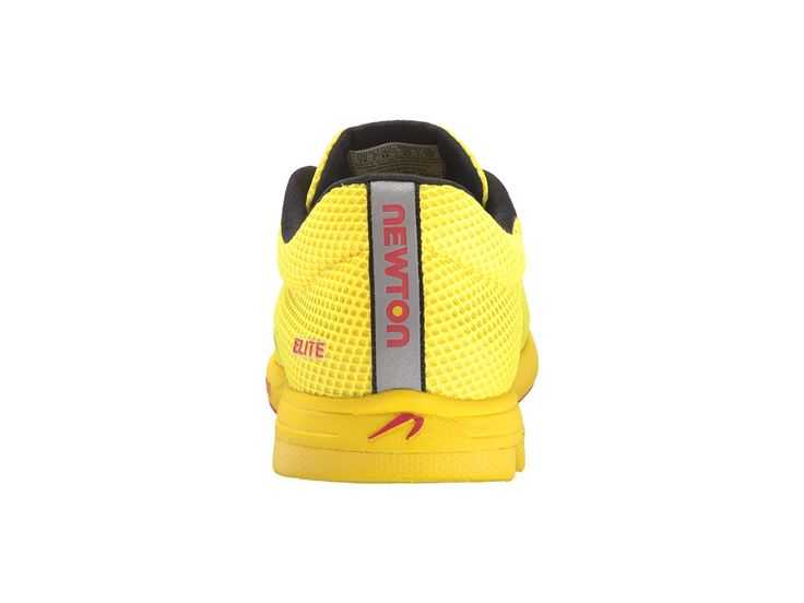 Newton Running Distance Elite Men's Running Shoes Yellow/Red