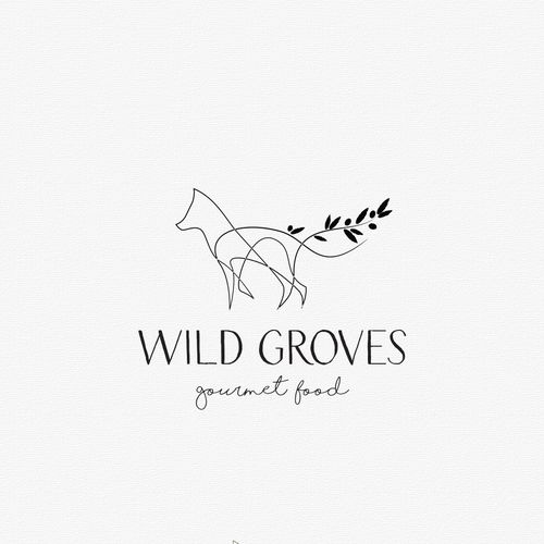 Designs | Create a high-end gourmet food brand for Wild Groves - by the most awarded olive oil taster in USA | Logo & brand identity pack contest
