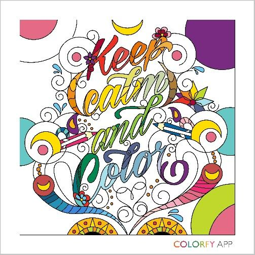 Keep Calm and Color