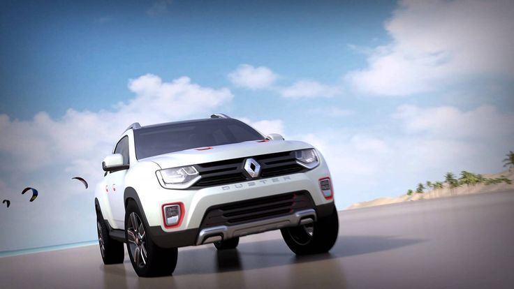 Nice Renault 2017 - Renault is set to unveil the Duster Oroch show car in a world premiere at the 28...