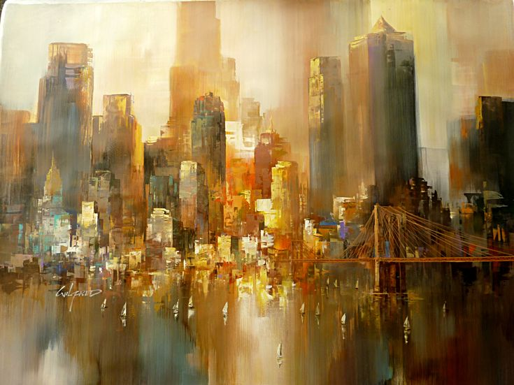11 best Nyc images on Pinterest | Painting, Nyc and Abstract