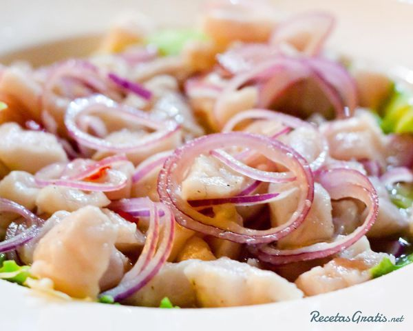 Receta de Ceviche de pescado peruano - Fácil - 5 pasos