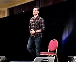 Colin doing the Irish dance! - Colin's panel at Storybrooke UK Convention - 23 April 2016