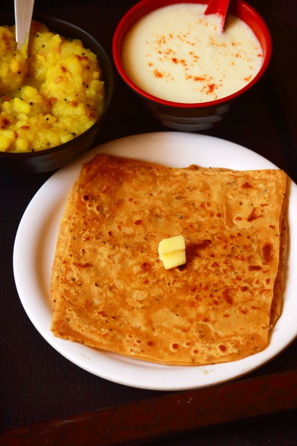 ajwain ke paratha | ajwain paratha recipe – tasty and easy to make paratha recipe for breakfast Today's recipe is ajwain paratha which is a very flavorful paratha. Usually I make paratha / chapathi / roti for dinner. Stuffed parathas are very much liked by everyone in the family. So today, I make these ajwain parathas. ...Read More »