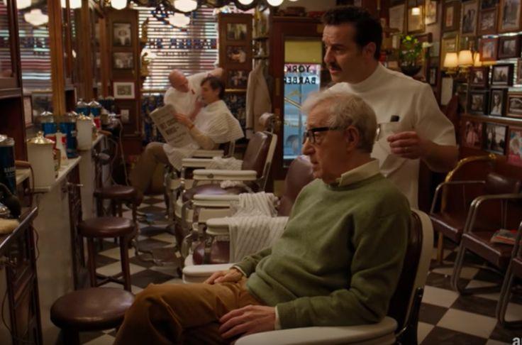 Woody Allen's half-hour series co-stars him with Miley Cyrus, Christine Ebersole, Joy Behar, Elaine May, Michael Rapaport.