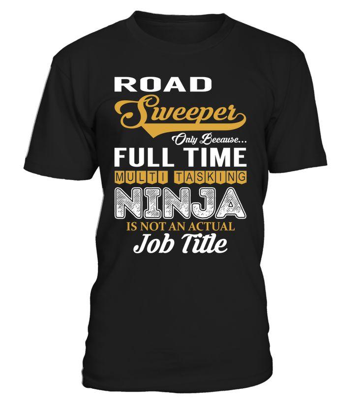 Road Sweeper - Multi Tasking Ninja #RoadSweeper