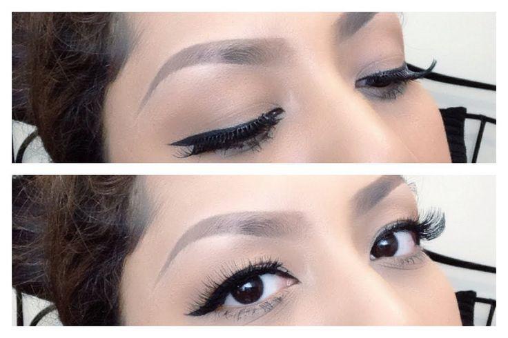 Tips memakai Eyeliner/ Bulu Mata palsu / update cara membentuk alis