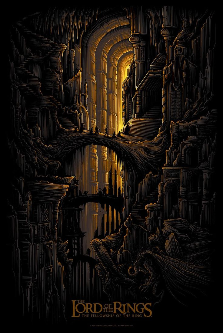 LOTR - The Fellowship Of The Ring - Dan Mumford ----