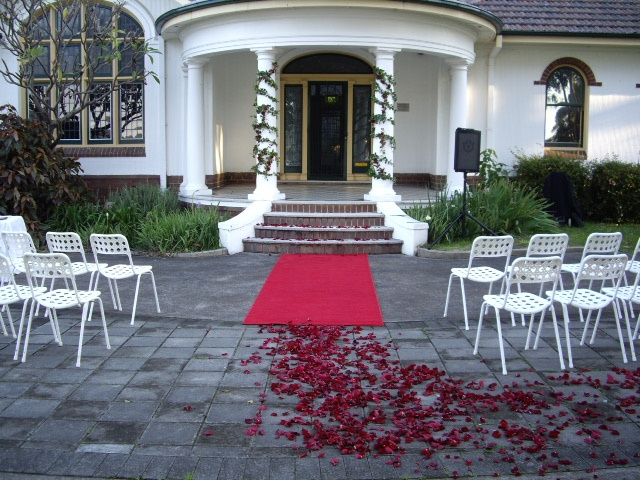 #weddingceremony #rosepetals