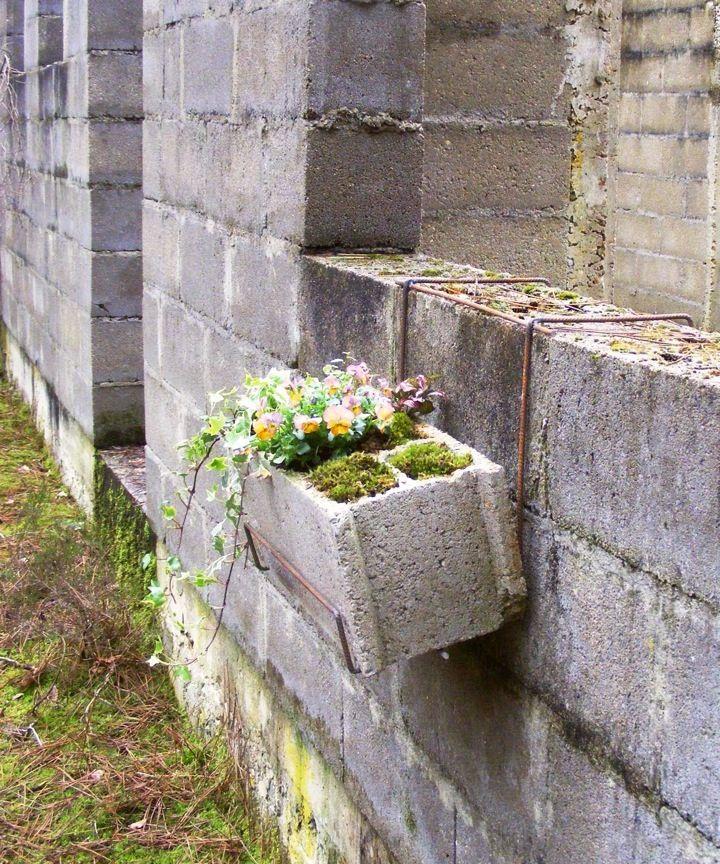 1067 best container gardens images on pinterest decks - Jardiniere en parpaing ...