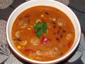 """""""Z Meksykiem ma pewno ta zupa niewiele wspólnego. Wątpię, by Meksykanie dodawali pieczarki:) Jej """"meksykańskość"""" ratuje jedynie dodatek f..."""