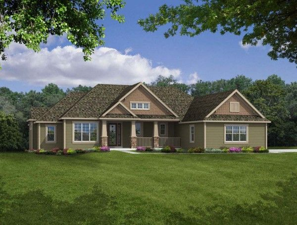 Camden ranch home design, Joseph Douglas Homes, Milwauke and Waukesha, WI