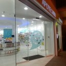 Bombillas LED en Farmácia Hostals en Santa María del Camí Mallorca España