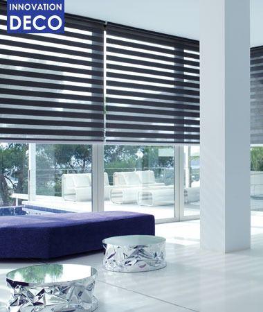 best 20 store enrouleur jour nuit ideas on pinterest. Black Bedroom Furniture Sets. Home Design Ideas