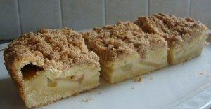 Appel-kruimel cake