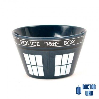 Cadeau Doctor Who : bol céramique Tardis sur Cadeaux et Anniversaire