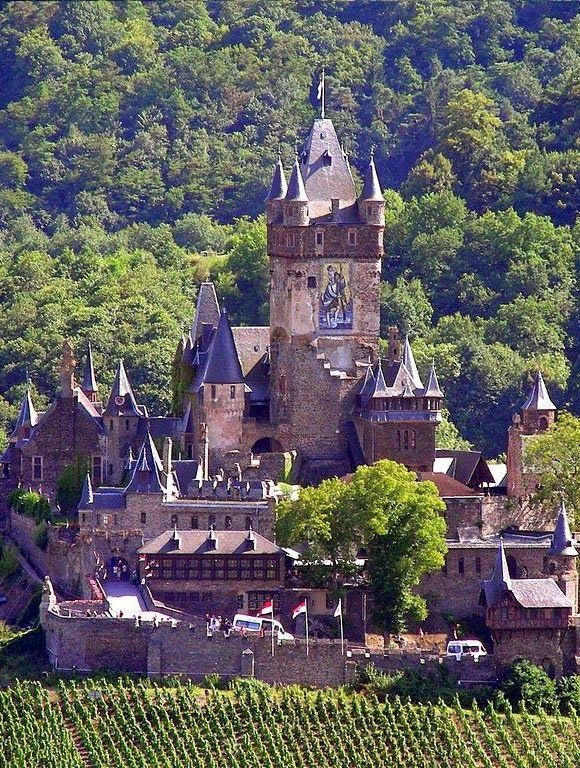 Cochem Castle, Luxembourg