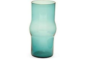 Kaj Franck Turquoise Glass Vase