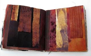decorated sketchbookBook Art, Handmade Book, Art Journals, Decor Sketchbooks, Art Book, Artists Book, Fiber Art, Mandy Pattullo, Thread And Thrift