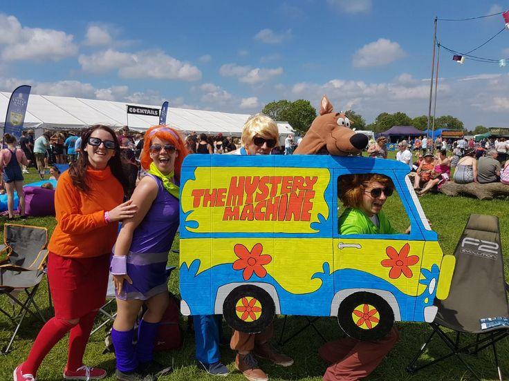Scooby doo group fancy dress