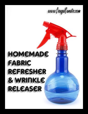 DIY Fabric Refresher & Wrinkle Releaser