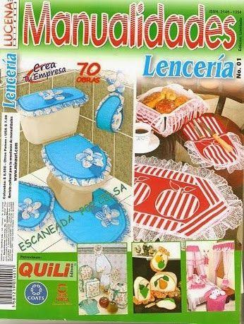 Revista manualidades lencería gratis
