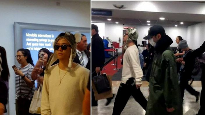 BIGBANG on the move from Sydney to Melbourne!
