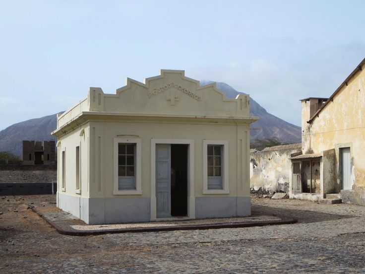 The Posto de Socorros (1940) provided medical treatment for inmates at the Portuguese concentration camp near Tarrafal on Santiago Island, Cape Verde. The camp closed in 1974.
